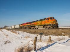 011615 BNSF 5181 - BNSF 5181 eastbound near the west end of Chadwick 01/16/15