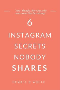Instagram is one of the best platforms that you can use for finding and interacting with your target audience. We're sharing six Instagram secrets to help you boost your engagement, increase your followers, and find your target audience. Learn how to turn your followers into customers and clients if you own a small business, or entrepreneur or retailer.