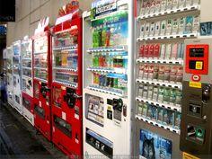 Japan - vending machines <3