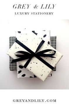 Grey and Lily Luxury Stationery Christmas Gift Box, Christmas Time, Christmas Stuff, Wrapping Ideas, Gift Wrapping, Gift Packaging, Packaging Ideas, Diy And Crafts, Stationery