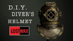 How To Make A Foam Deep Sea Diver's Helmet. DIY Halloween Costume