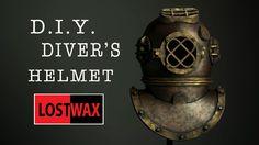 How To Make A Foam Deep Sea Diver's Helmet. DIY Halloween Costume
