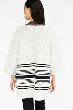 Native Youth Jacquard Knit Coat - Urban Outfitters