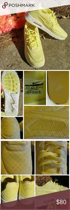 b5133a053997 NWOB Men s Nike Air Max Lemon Chiffon Sneakers  These brand new sneakers by  Nike are unique