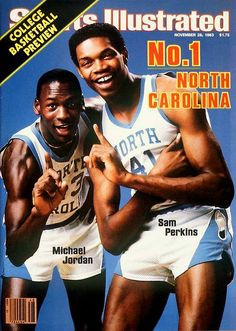 Michael Jordan first Sports Illustrated cover