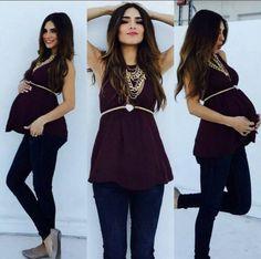 Hoy te quiero compartir unas ideas muy lindas de como puedes armar increibles looks si estas embarazada, para que luzcas tu pancita y tambien tu luzcas muy bien, espero que te gusten mucho nuestras propuestas.