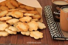 Cookies for Kids - A wonderful cookie dough NikiB - Making Food with Love Plain Cookies, Cookies For Kids, Egg Preparations, Crispy Cookies, Buffalo Cauliflower, Cake Cookies, Cookie Dough, Make It Simple, Food To Make