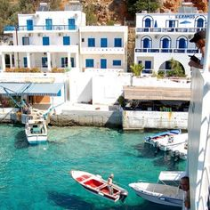 The village of Loutro on the Greek island of Crete. Better than Santorini. Places Around The World, Oh The Places You'll Go, Places To Travel, Places To Visit, Around The Worlds, Travel Destinations, Santorini, Mykonos, Dream Vacations