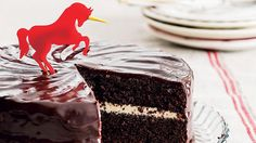 """Totally Unicorn beetroot cake. """"If you're turning up your nose at what seems like an unlikely marriage, try it first. The combination of earthy beets, bitter with smoky dark chocolate and slightly salty cream cheese is heavenly!"""