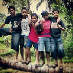 When we was child..