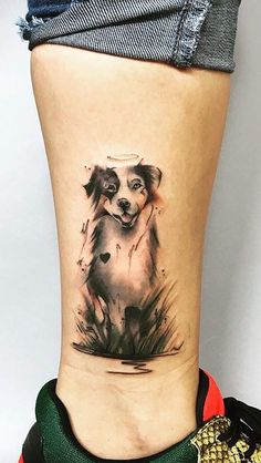 Are you thinking about getting a dog tattoo? we have collected over 100 amazing dog tattoos by the best tattoo artists to inspire your. Tribal Tattoos, Tattoos Skull, Dog Tattoos, Body Art Tattoos, Small Tattoos, Tattoos For Pets, Piercing Tattoo, Piercings, Dog Memorial Tattoos