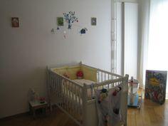 Das ist das Kinderzimmer meines 6 Monate alten Sohnes.