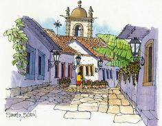 http://land8.com/profiles/blogs/james-richards-interview-on-travel-and-urban-sketching