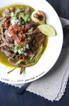Carne en su Jugo Jalisco Style