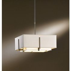 Exos Bronze Two-Light Small Drum Pendant with Natural Anna and Flax Shade - (In 05 - Bronze)