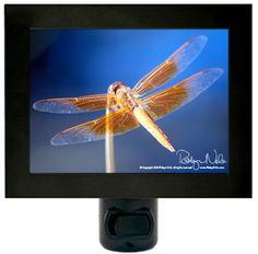 """Dragonfly Totem"" Dragonfly Night Light by Robyn Nola"