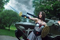 In Soviet Russia... AH Shut Up A Look At This Wonder Woman Cosplay