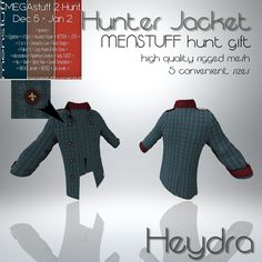 Menstuff hunt gift for men starts December 5th Happy holidays gentlemen make sure you come and get your hunt on!