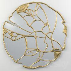 GLANCE mirrior by BOCA DO LOBO Kintsugi, Diy Resin Art, Art Japonais, Heart Painting, Cool Woodworking Projects, Japan Art, Sculpture, Art Plastique, E Design
