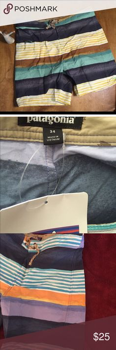 Men's Patagonia swim trunks (size 34) NWT Men's NWT, Patagonia swim trunks, size 34 waiste, great deal Patagonia Swim Swim Trunks