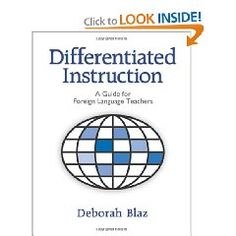 Best selling author Deborah Blaz helps you differentiate lessons for your students based on their learning styles, interests, prior knowledge, socialization needs, and comfort zones. This is the only book in print devoted solely to applying the principles and practices of differentiated instruction to the teaching of foreign languages. It provides detailed classroom-tested examples of activities and lessons plans to help you teach foreign language to diverse learners.