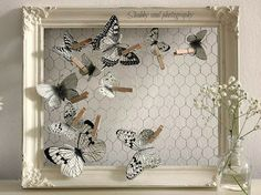 Shabby Soul:Paper Butterfly - Tutorial and pattern
