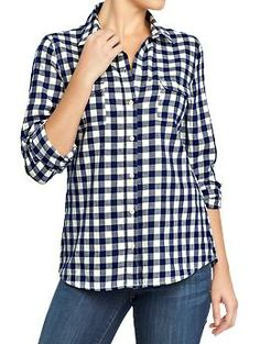womens flannel shirt at L.L.Bean | Plaids or Flannel Shirts n ...