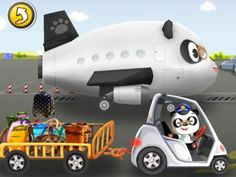 Dr. Pandas Flughafen App für Kinder iPad, iPhone, Android, Kindle Fire