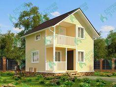 Каркасный дом 6 х 6 - цены и проекты в Санкт-Петербурге