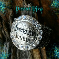 Jewelry Junkie Bangle Hinged Crystal accent Bangle Boutique Jewelry Bracelets