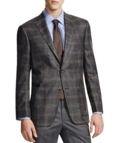 Hart Shaffner Marx Platinum Label Subtle Plaid Classic Fit Sport Coat - 100% Bloomingdale's Exclusive | Bloomingdale's