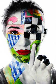 """art foto tytuł """"MERAVILGIOSA"""" foto by Radosław Kwast niebieskacytryna.pl (fotografia artystyczna-wydruki na płótnie bawełnianym-drewniany blejtram, certyfikat autentyczności)"""