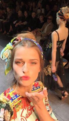 Runway - Dolce&Gabbana Spring/Summer 2016 | D&G Selfie