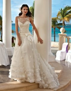 If the top was designed a little better, might be a keeper .   Demetrios Platinum Style DP243 by Demetrios
