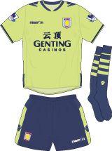 Aston Villa Football Kits Away Kit 2012-2013