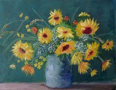 Sunflower Madness ©2015 Karin Naylor
