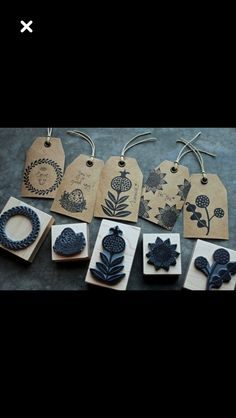 Cute Packaging, Jewelry Packaging, Card Tags, Gift Tags, Decorated Gift Bags, Diy And Crafts, Paper Crafts, Gift Labels, Box Design