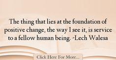 Lech Walesa Quotes About Positive - 55901