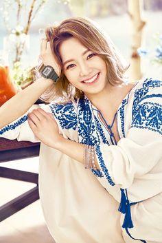 More of SNSD's HyoYeon for Taiwan's 'Girl Magazine' ~ Wonderful Generation