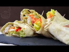Tortillas, Fresh Rolls, Tacos, Food And Drink, Mexican, Ethnic Recipes, Youtube, Mince Pies, Youtubers