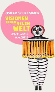 Ausstellungseite Oskar Schlemmer - Staatsgalerie Stuttgart