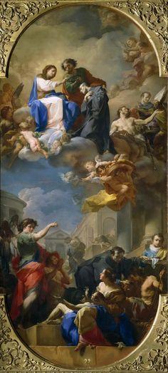 The Athenaeum - The Triumph of Saint John of God (Corrado Giaquinto - ) Rococco