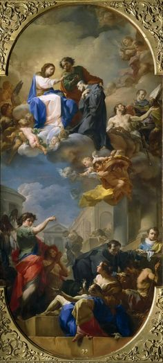 The Athenaeum - The Triumph of Saint John of God (Corrado Giaquinto - ) Rococco