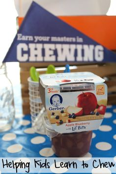 Helping Babies Learn to Chew with Gerber Lil' Bits Baby Food Recipes, Snack Recipes, Baby Snacks, Get Baby, Crazy Kids, Baby Learning, Homemaking, Parenting Hacks, Something To Do
