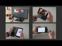 Microsoft демонстрирует работу чехла со встроенным экраном - 4PDA