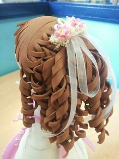 Peinado para fofucha