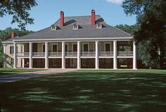 Destrehan Plantation near Destrehan, St. Charles Parish, LA built 1790 is one of the oldest houses in Louisiana.
