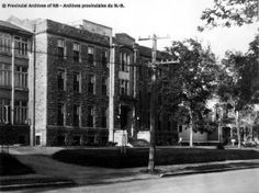 Fraser Memorial Hospital, ca. Memorial Hospital, New Brunswick, Group Photos, Historical Society, Street View, York, History, Architecture, Collection