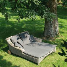4 Seasons Outdoor Valentine 2-Seater Sunbed at John Lewis