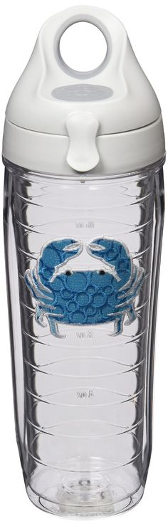 Tervis Water Bottle Blue Crab Keeps Hot Drinks And Cold